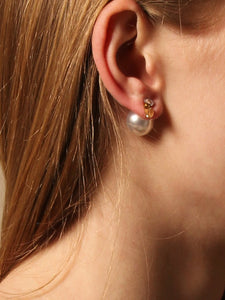 Match Earrings (Reversible Style) - Pair