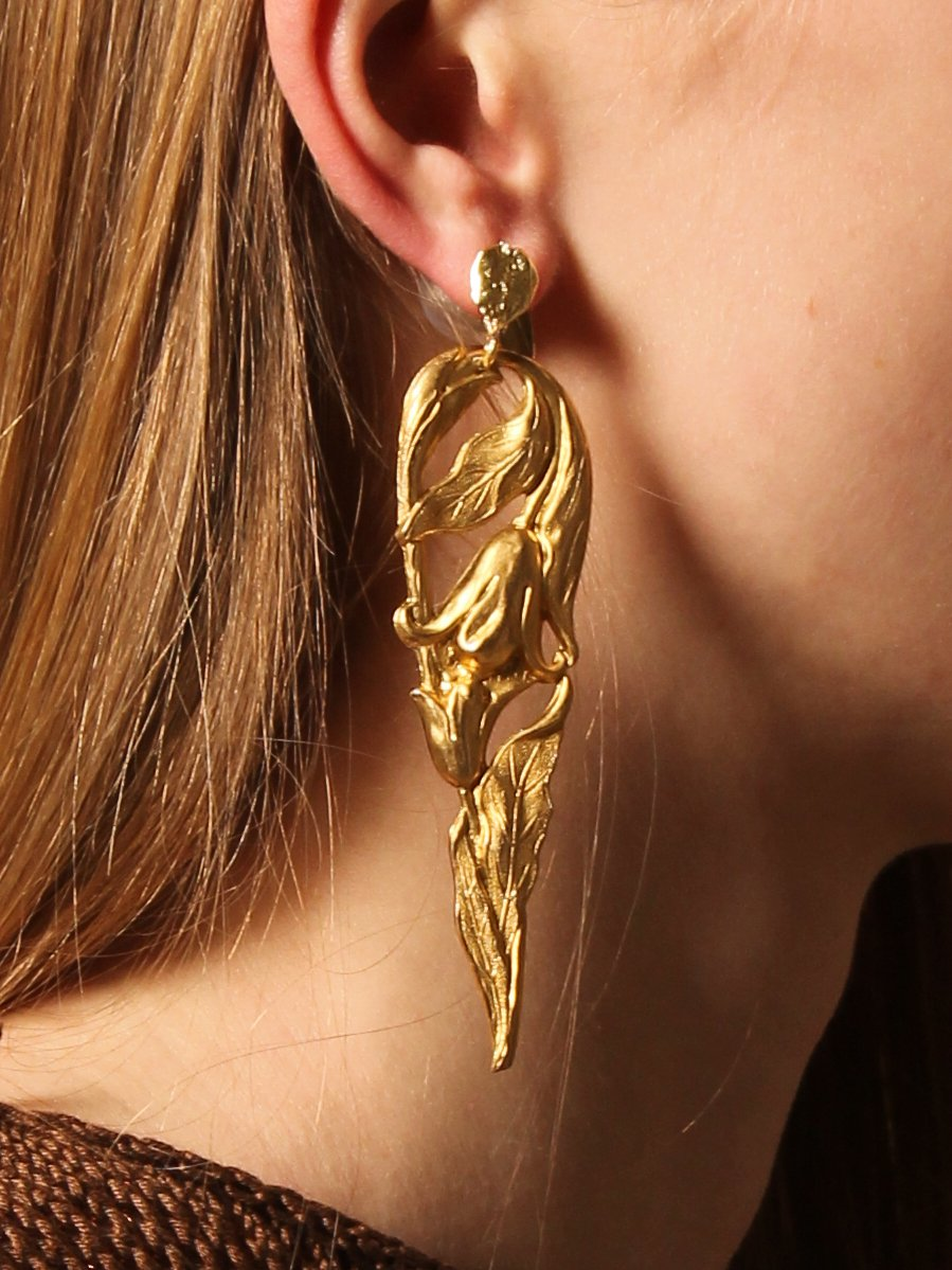 Joan Earring - Gold - Pair