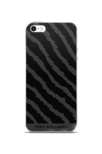 iPhone case - Signature stripe print Black/Grey