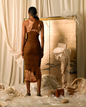 Load image into Gallery viewer, Crushed Hepha Dress - Rust