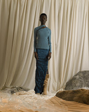 Load image into Gallery viewer, Eudaimonia Rib-knit Top - Ocean
