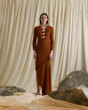 Load image into Gallery viewer, Eudaimonia Rib-knit Dress - Terra