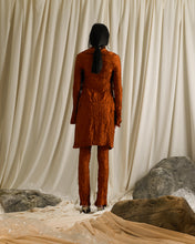 Load image into Gallery viewer, Crushed Saga Trousers - Burnt Orange