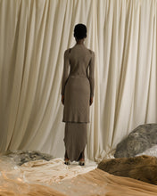 Load image into Gallery viewer, Rib-knit Dress - Taupe