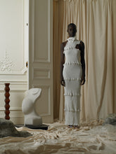 Load image into Gallery viewer, Techno-smock Dress - White