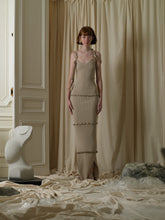 Load image into Gallery viewer, Fine Rib-Knit Dress - Sand