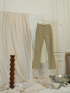 Corduroy Trousers - Sand