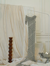 Load image into Gallery viewer, Handmade Lace Knit Dress - Sage