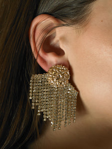 Artisanal Lumina Earrings - Gold