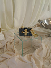 Load image into Gallery viewer, Artisanal Eos Clutch - Black Pearl
