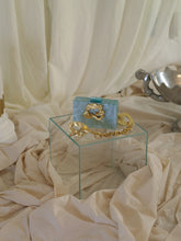 Load image into Gallery viewer, Artisanal Nuage Clutch - Ocean Pearl