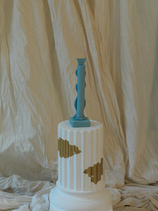 Wave Candle Stick Holder - Pacific
