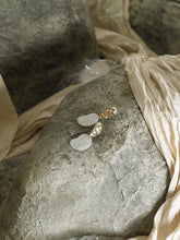 Load image into Gallery viewer, Gaia Earrings - Gold / Pearl Moon