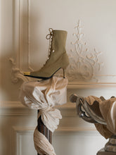 Load image into Gallery viewer, Techno Amaia Heeled Boots - Khaki