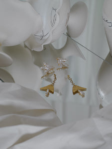 Raya Earrings - Gold