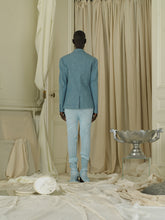 Load image into Gallery viewer, Linen Jacket - Ocean