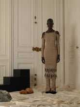 Load image into Gallery viewer, Rib-Knit dress - Sand