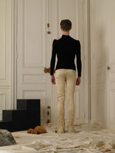 Load image into Gallery viewer, Crushed Elongated Trousers - Soleil
