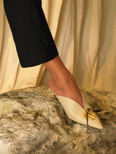 Load image into Gallery viewer, Artisanal Maros Mules - Sand/Gold