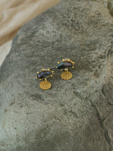 Load image into Gallery viewer, Almeta Earrings - Gold/Black