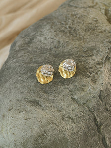 Ambra Earrings - Gold/ White Gold
