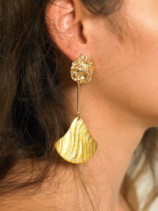 Dalo Earrings - Gold - Pair