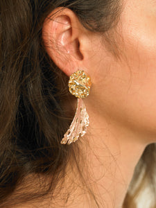 Masora Earrings - Gold/Rosé - Pair