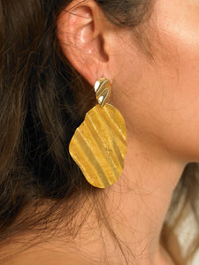 Lazul Earrings - Gold - Pair