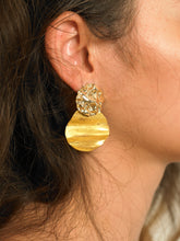 Load image into Gallery viewer, Lakos Earrings - Gold - Pair