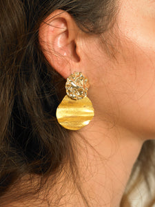 Lakos Earrings - Gold - Pair