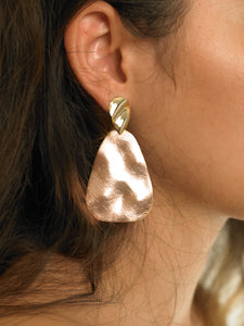 Lana Earrings - Gold/Rosé - Pair