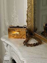 Load image into Gallery viewer, Artisanal Gaia Chain Clutch - Earth/Gold