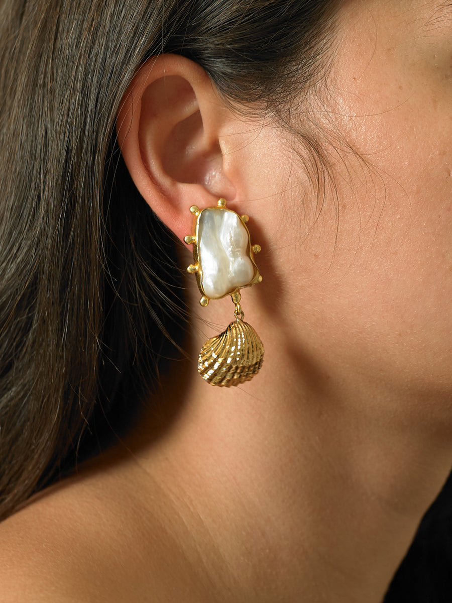 Ikata Earrings - Gold