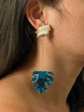 Load image into Gallery viewer, Ulus Earrings - Gold/Azura