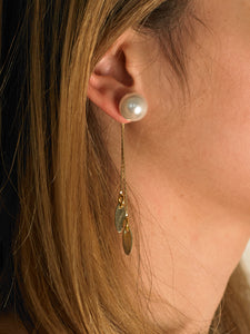 Amarine Earrings - Gold