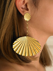 Arista Earrings - Gold