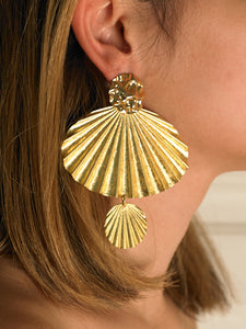 Andrina Earrings - Gold