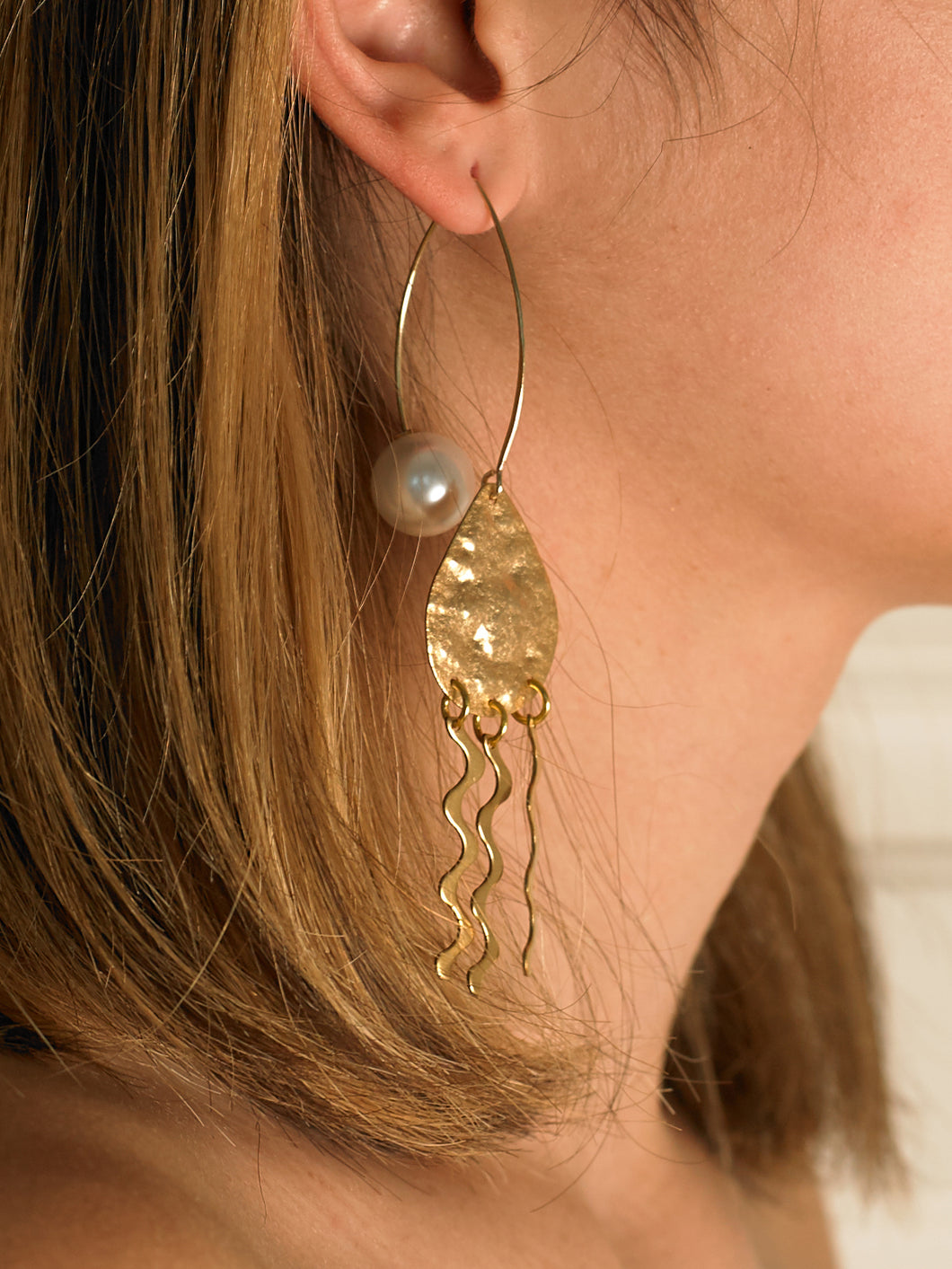 Nanami Earrings - Gold