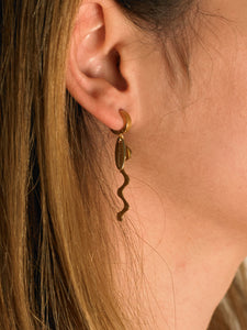 Cornela Earrings - Gold
