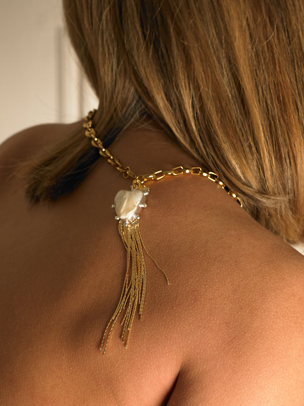 Camla Chaine Necklace - Gold