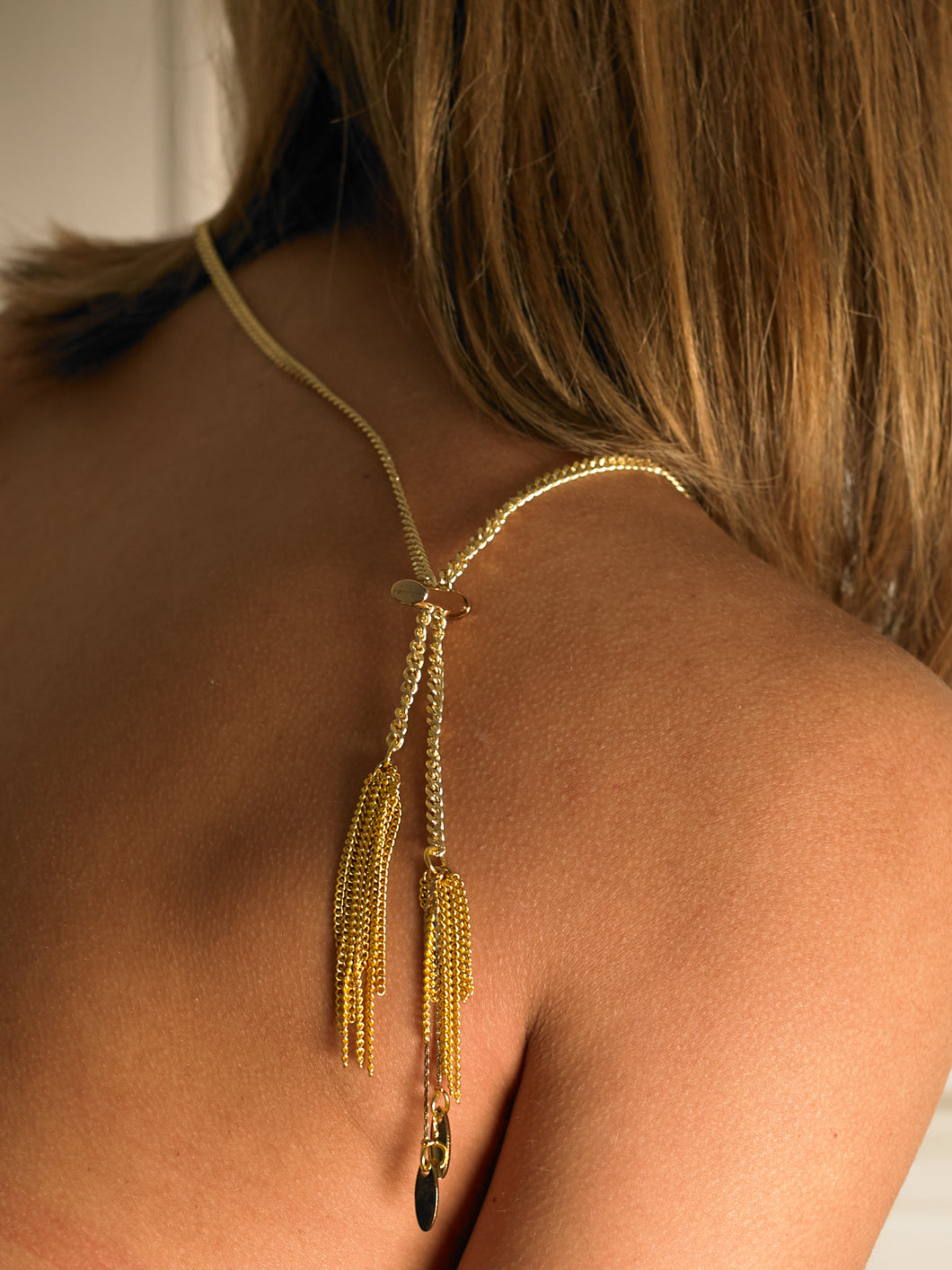 Tura Chaine Necklace - Gold