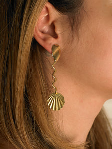 Attina Earrings - Gold