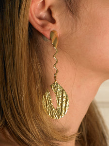 Darina Earrings - Gold