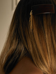 Dara Hair Barrette - Gold