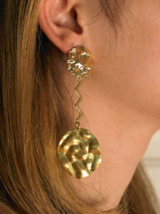 Nerina Earrings - Gold