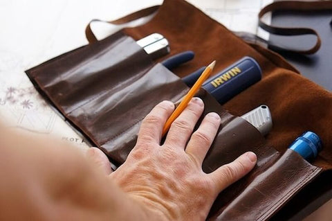 Leather Tool Roll How to Do It Yourself