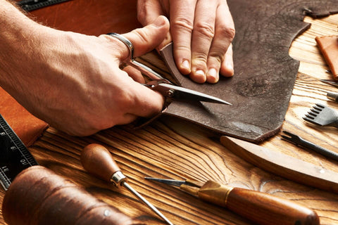 Leather Scissors Cutting Tools for Crafting Projects