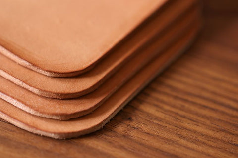 Easy DIY Leather Coasters Mens Projects