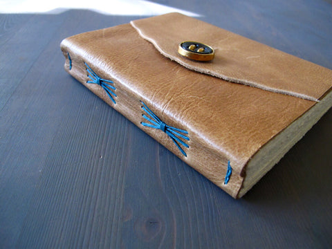 Leather Bound Notebook Easy Mens DIY projects