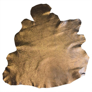 Buy Metallic Genuine Leather Hides for Crafting